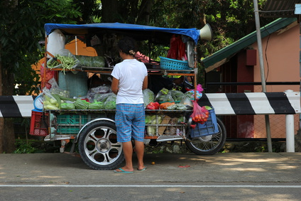 Food Truck on a Motorbike
